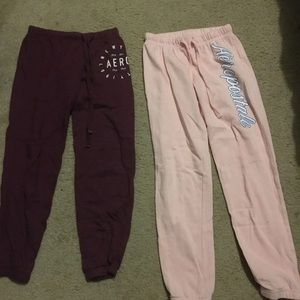 Aeropostale's joggers for girls junior size xs